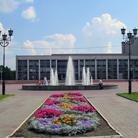 "Фонтан у ДК ""Комсомолец"". Бульвар Дружбы (микро)"