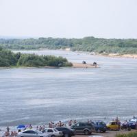Ока в Серпухове