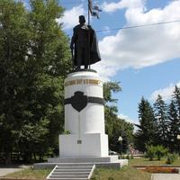 Курск. Памятник Александру Невскому.