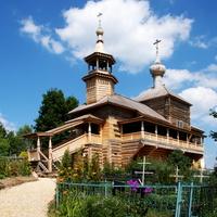 Деревянная церковь на ул. Рабочей