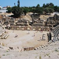 Античный театр в древнем городе Мира