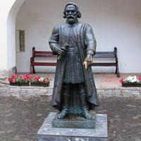 Памятник основателю замка князю Фёдору Кориатовичу