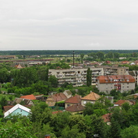 Вид на город из замка