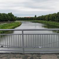 Река Уж (вид с моста)