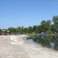 """Парк регионального значения """"Ключи"""". Пляж."""