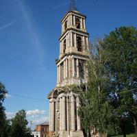 Колокольня разрушенной Никольской церкви