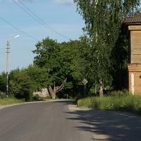 Революционная улица, дорога к речке Венёвка