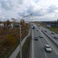 Магистральный выезд в Новосибирск