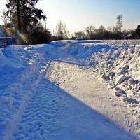 Зимові вулиці.