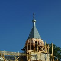 Реставрация храма. июль 2013.