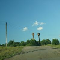 Дорога со стороны Мшенского источника.