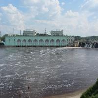 Волховская ГЭС, другой ракурс