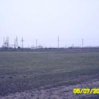 Вид на пос. Жалпактал со стороны дороги на Уральск