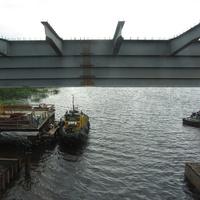 Сясьстрой, мост на реке Сясь.