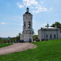 Храм-звонница и трапезная