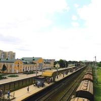 Скоро прийдёт электропоезд на Киев