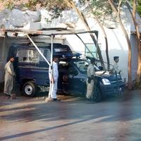 Дорога Сафага - Кена, пост полиции