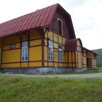 Вокзал станции разъезда Благодать