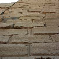 В Карнакском храме, стена
