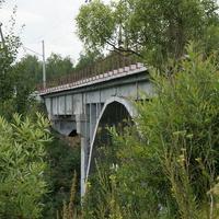 ЖД мост через реку Кашира