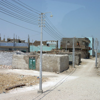 Деревня на левом берегу Луксора