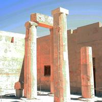 В храмовом комплексе Хатшепсут