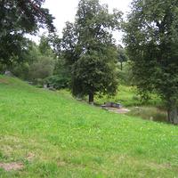 Парк возле Мариентальского пруда