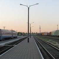 Вид с третьей платформы в сторону Барановичей