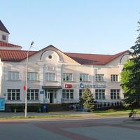 Здание Белпочты