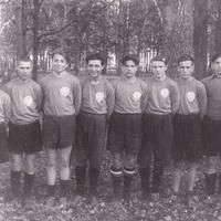 """Команда """"МЕДИК"""" поселка 1940-е годы"""
