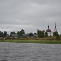 д.Давыдово с реки Свидь
