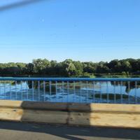 Мост через речку Ахтырка