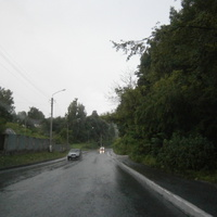 Кременецька дорога в літній дощ