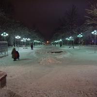 Жуковский ночью