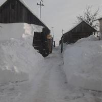 Во дворе зимние тоннели