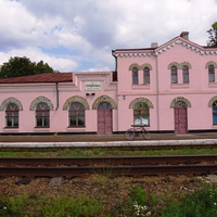 Сердюковка-ж.д станция.Здание построено в 1911 году.