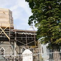 реконструкция храма в 2013 г