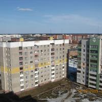 Полоцк, Аэропорт, крыши