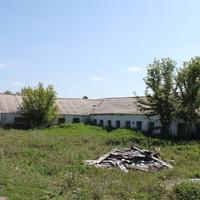 Пристень. Одна из старых ферм.