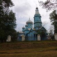 Жаботин Успенская церковь 1850 г