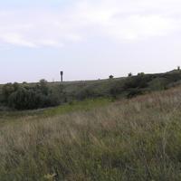 Видны окрестности села.