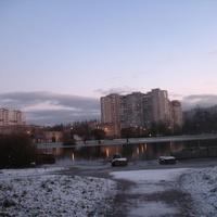 пруд в парке 50-летия Октября