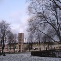 завод в парке 50-летия Октября