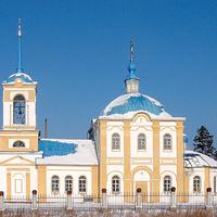 Асбест. 2004 г. Церковь Владимира равноапостольного