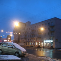 Среднеохтинский проспект (2011, декабрь)