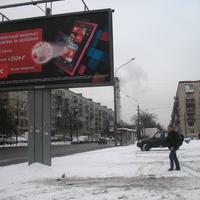 Проспект Металлистов (2012, январь)