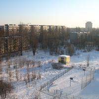 Шоссе Революции, двор (2012, январь)