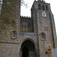 Evora. Cathedral