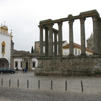 Evora. The Roman Temple of Diana