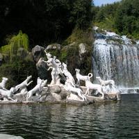 Caserta. Fontana di Atteone nel Parco Reale
